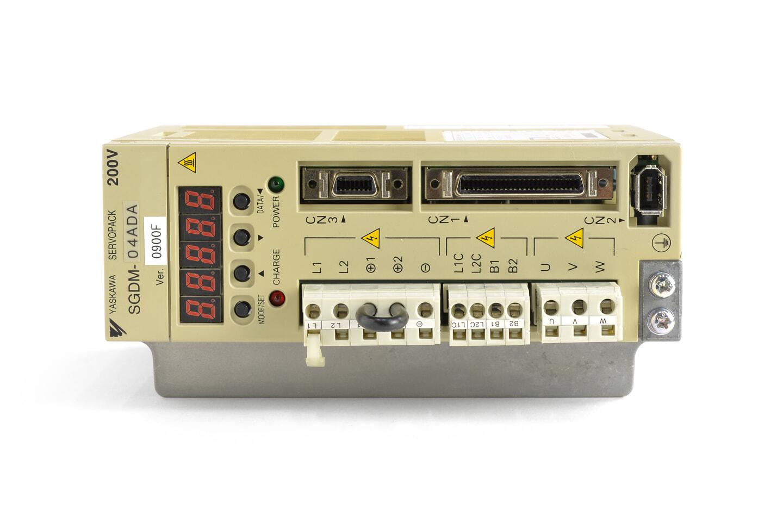 安川電機 ACサーボパック SGDM-04ADA (ソフトVer008F)
