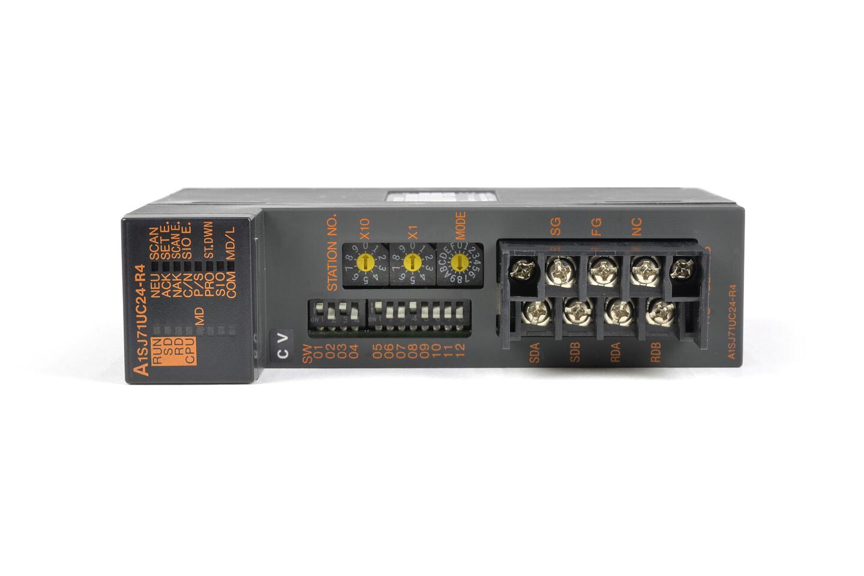 三菱 計算機リンクユニット A1SJ71UC24-R4 (04年製・CV)