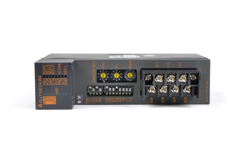 三菱 計算機リンクユニット A1SJ71UC24-R4 (01年製・BV)