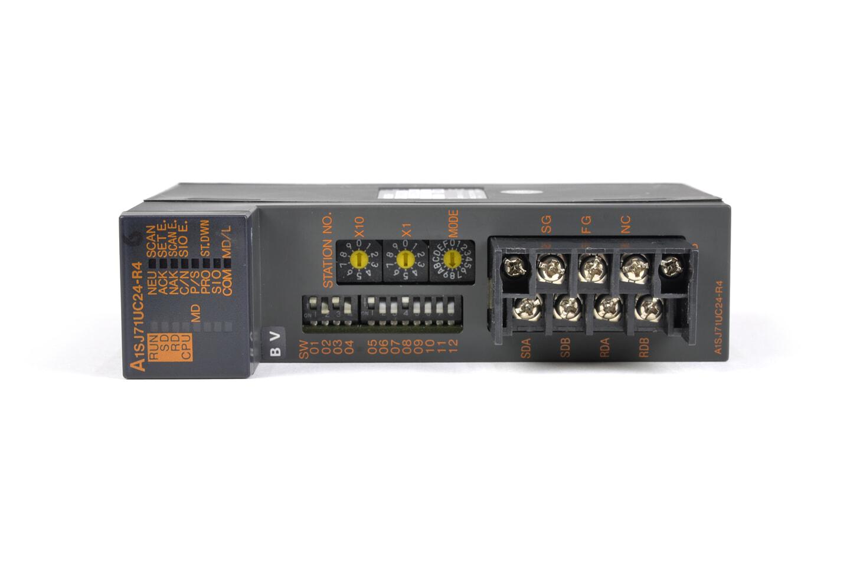 三菱 計算機リンクユニット A1SJ71UC24-R4 (02年製・BV)