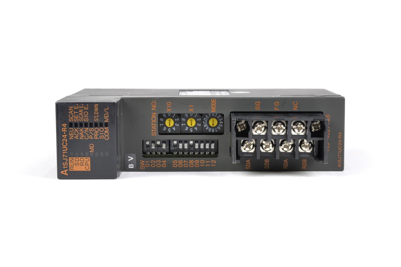 三菱 計算機リンクユニット A1SJ71UC24-R4 (03年製・BV)