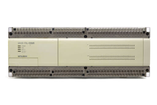 三菱 シーケンサ FX2-128MR (99年製・V3.30・欠けあり)