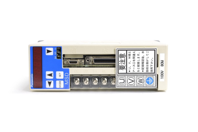 パナソニック MINAS Xシリーズ サーボドライバ MSD8A1A1X (97年製)