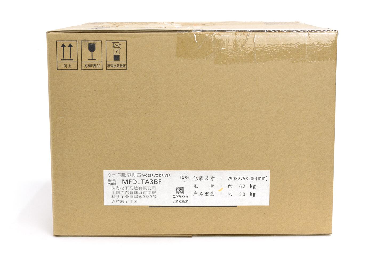 パナソニック MINAS A6Bシリーズ サーボアンプ MFDLTA3BF (2018年製)