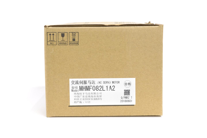 パナソニック MINAS A6ファミリー サーボモータ MHMF082L1A2