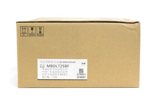 パナソニック MINAS A6Bシリーズ サーボアンプ MBDLT25BF (2018年製)