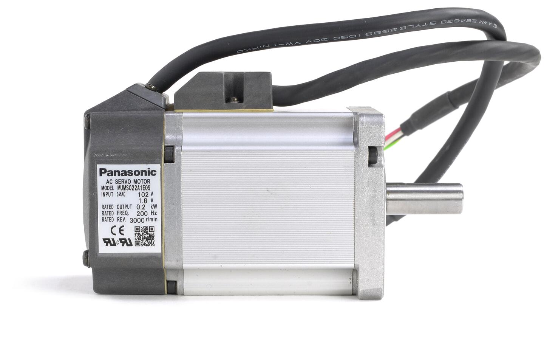 パナソニック MINAS Sシリーズ サーボモータ MUMS022A1E0S (キー材なし)