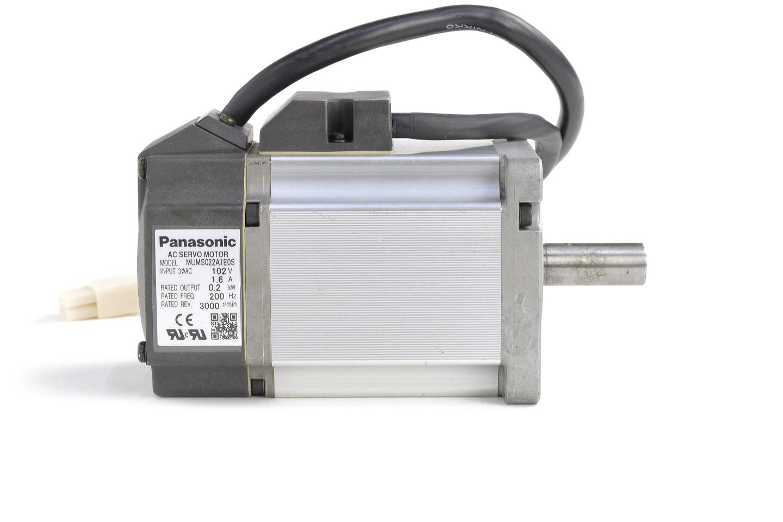 パナソニック MINAS Sシリーズ サーボモータ MUMS022A1E0S (シャフトに錆あり)