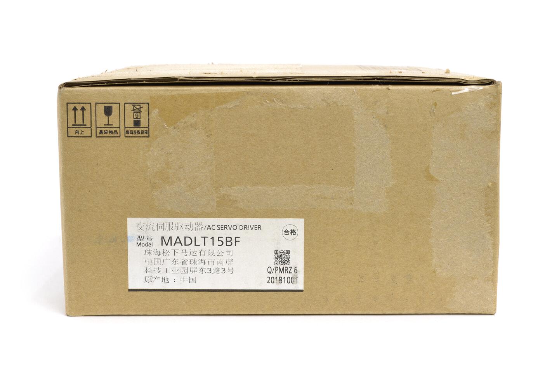 パナソニック MINAS A6Bシリーズ サーボアンプ MADLT15BF (2018年製)