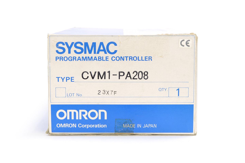オムロン 電源ユニット CVM1-PA208 (07年製)