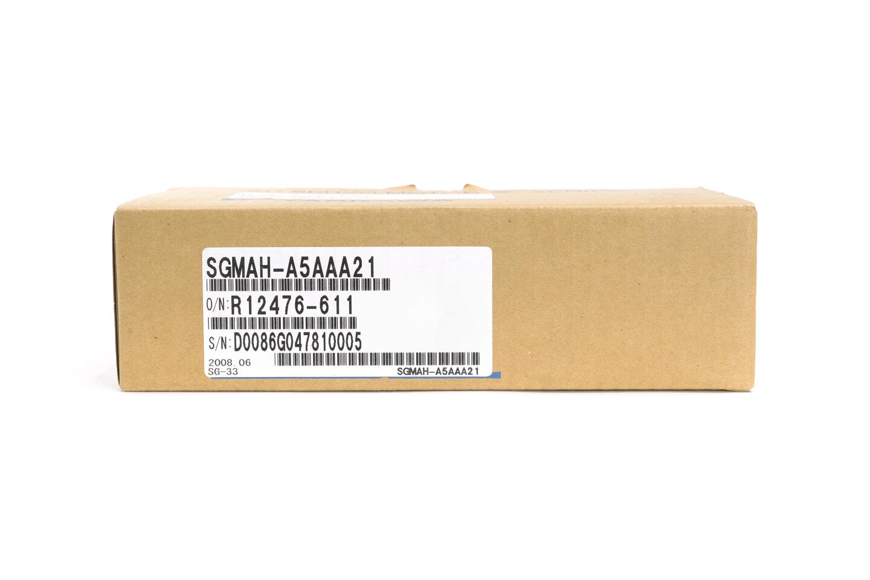 安川電機 サーボモータ SGMAH-A5AAA21
