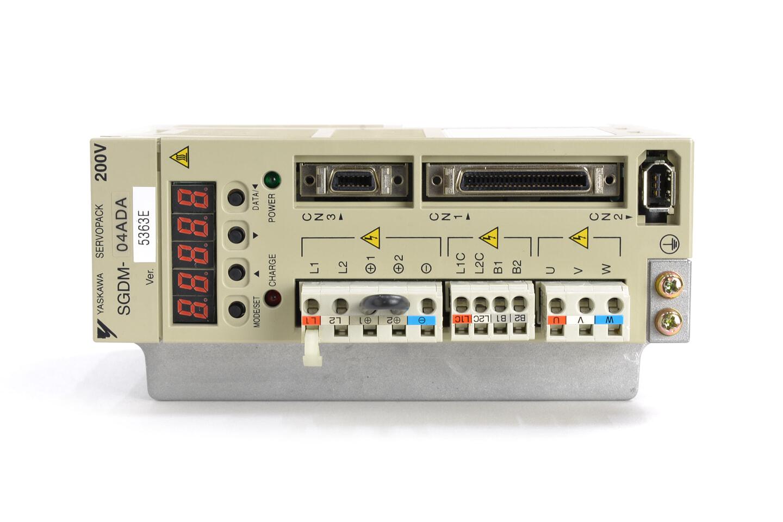 安川電機 ACサーボパック SGDM-04ADA (ソフトVer003E)