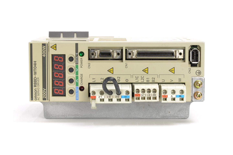 オムロン サーボドライバ R88D-WT04H (ソフトVer003A)