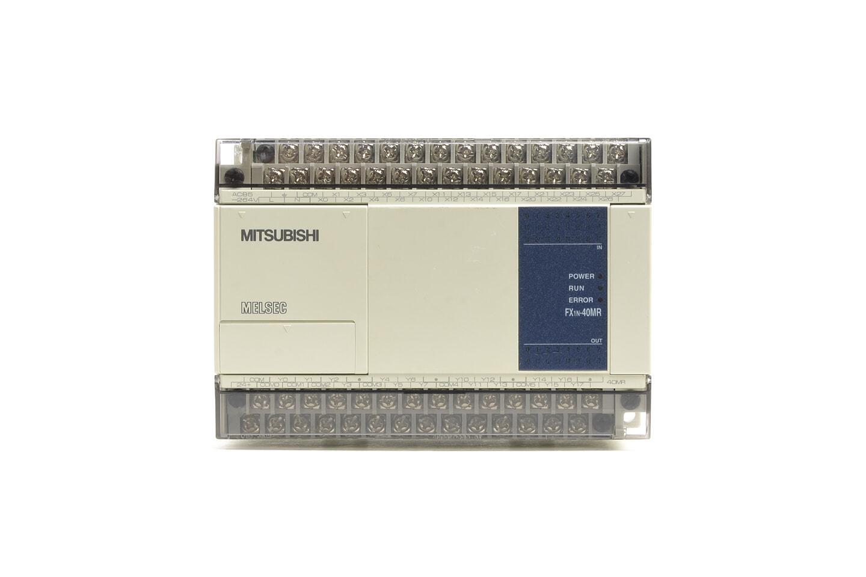 三菱 シーケンサ FX1N-40MR (07年製・V2.13・欠けあり)