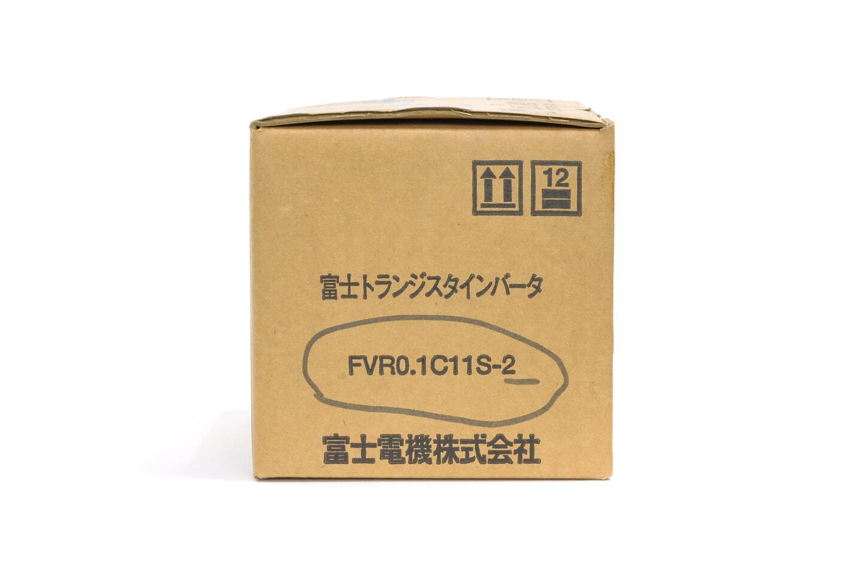 富士電機 インバータ FVR0.1C11S-2