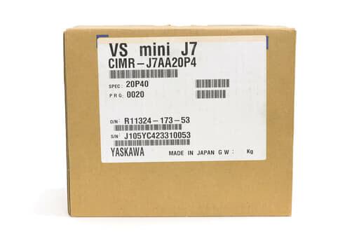 安川電機 インバータ CIMR-J7AA20P4