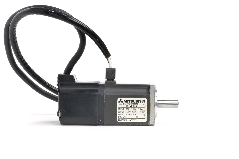 三菱 ACサーボモータ HC-MFS13 (シャフトに錆あり)