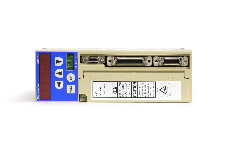 パナソニック MINAS XX/XP/Xシリーズ サーボアンプ MSD023A1XX (98年製)