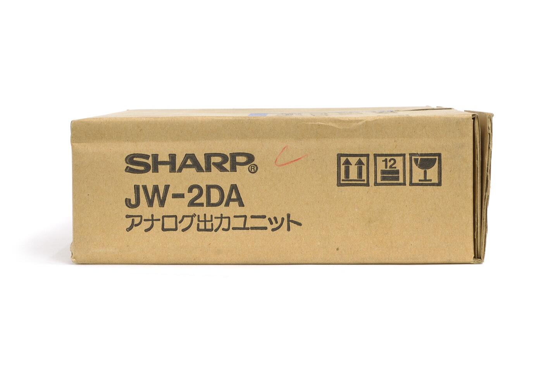 シャープ アナログ出力ユニット JW-2DA