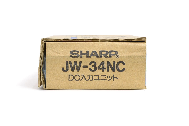 シャープ DC入力ユニット JW-34NC
