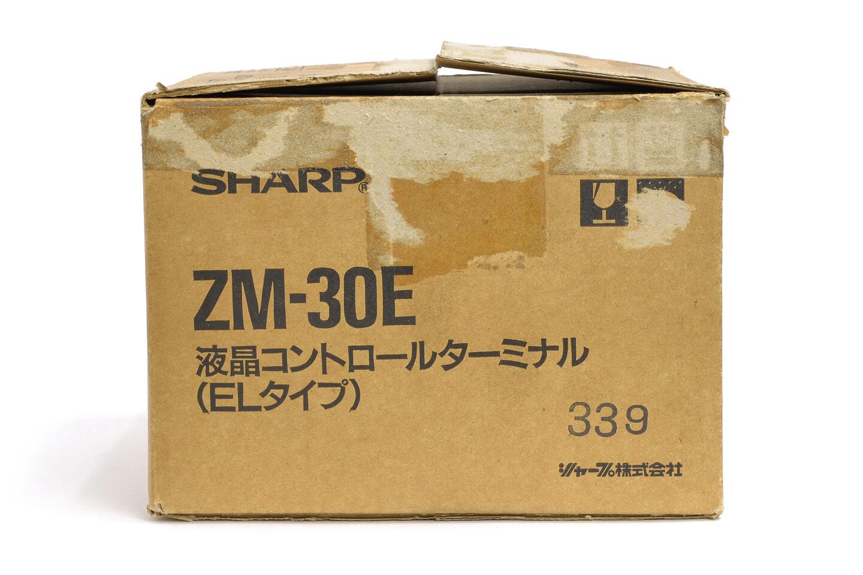 シャープ 液晶コントロールターミナル ZM-30E