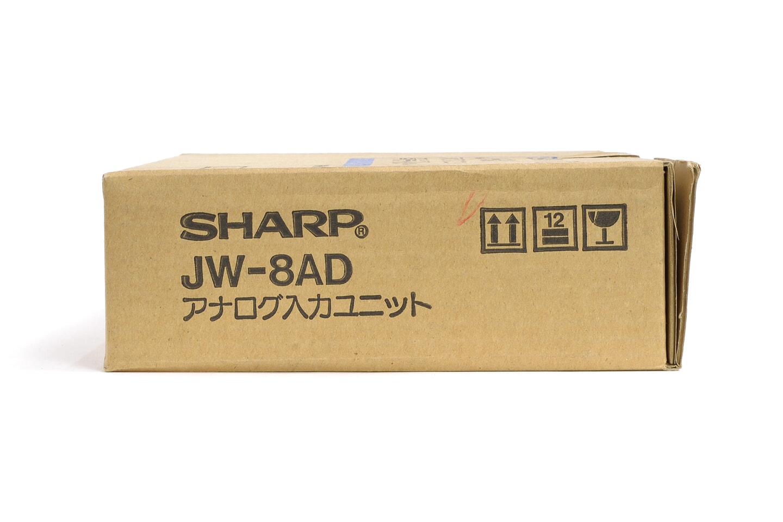 シャープ アナログ入力ユニット JW-8AD