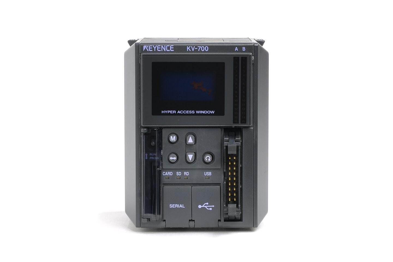 キーエンス CPUユニット KV-700 (アクセスウィンドウの視認性に難あり)