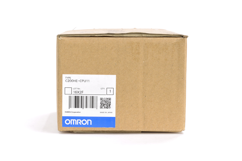 オムロン CPUユニット C200HE-CPU11 (02年製)