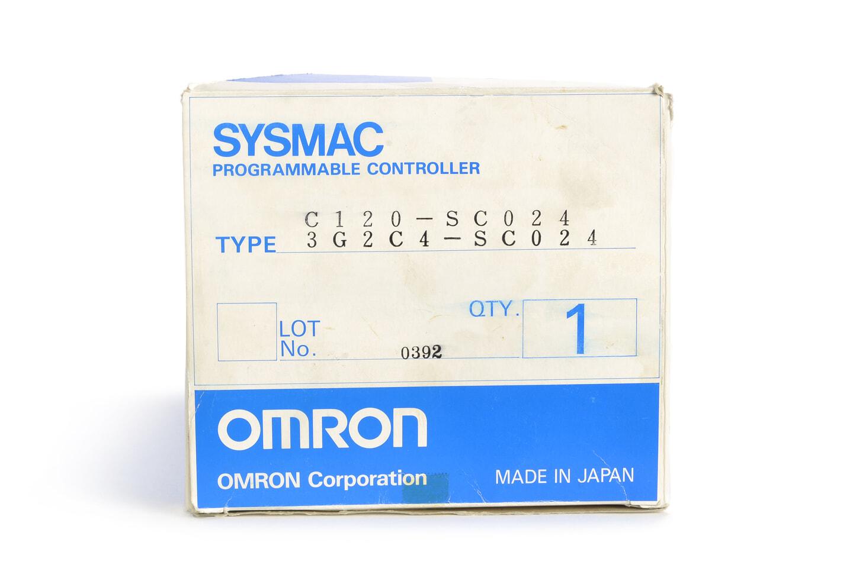 オムロン プログラマブルコントローラ C120-SC024 (82年製)