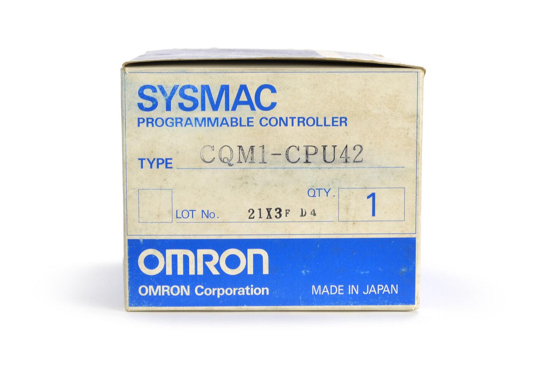 オムロン CPUユニット CQM1-CPU42 (93年製)