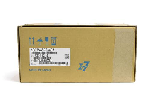 安川電機 サーボパック SGD7S-5R5AA0A (17年製)