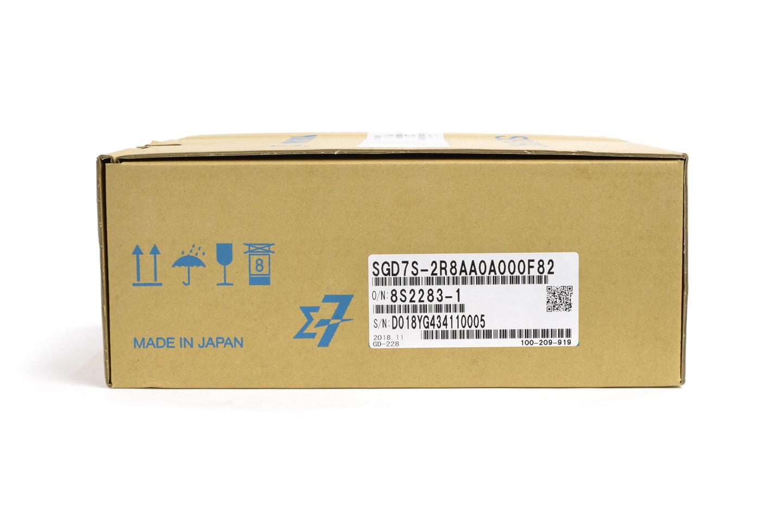 安川電機 サーボパック SGD7S-2R8AA0A000F82 (18年製)