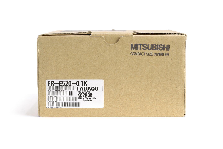 三菱 インバータ FR-E520-0.1K (08年製)