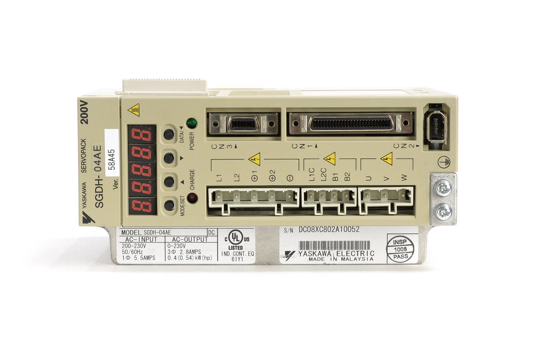 安川電機 ACサーボパック SGDH-04AE (ソフトVer0045)