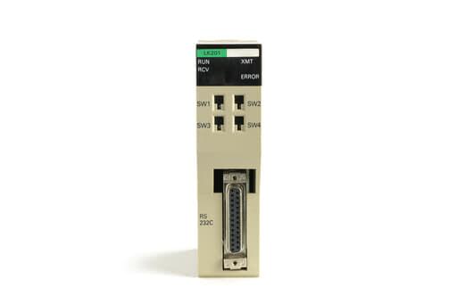 オムロン 上位リンクユニット C200H-LK201 (02年製)