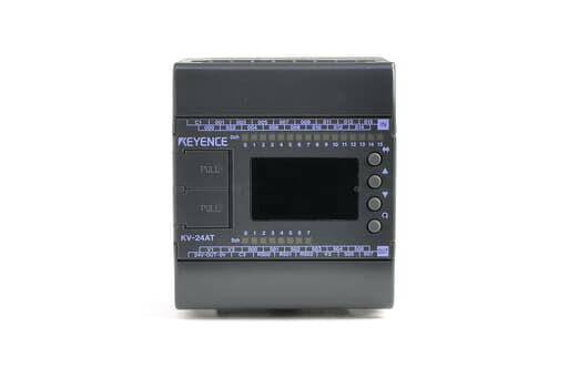 キーエンス プログラマブルコントローラ KV-24AT