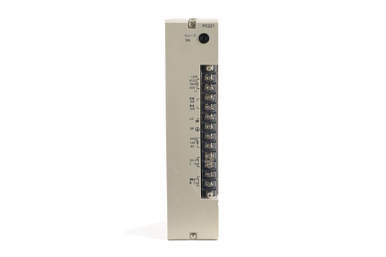 オムロン 電源ユニット C500-PS221 (05年製・欠けあり)