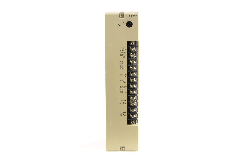 オムロン 電源ユニット C500-PS221 (92年製・割れあり) ※DC24V出力端子使用不可