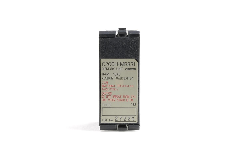 オムロン メモリユニット C200H-MR831 (92年製)