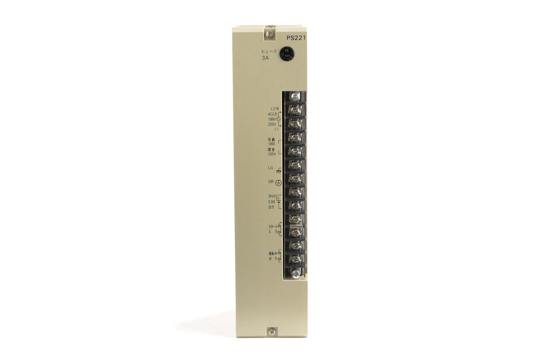 オムロン 電源ユニット C500-PS221 (90年製) ※DC24V出力端子使用不可
