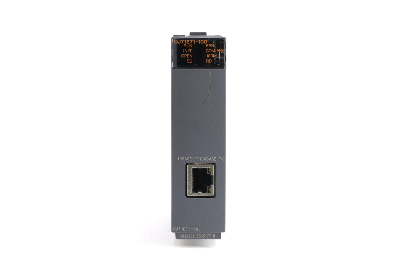 三菱 Ethernetインタフェースユニット QJ71E71-100 (機能バージョンD)