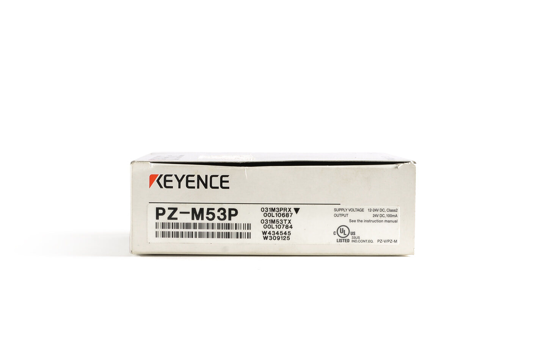 キーエンス アンプ内蔵型光電センサ PZ-M53P