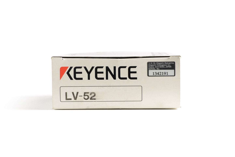 キーエンス デジタルレーザセンサ アンプユニット LV-52