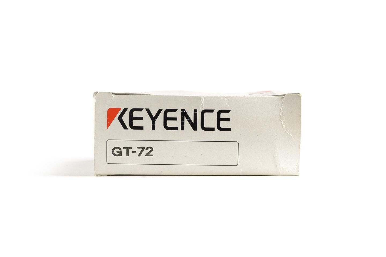 キーエンス 汎用接触式デジタルセンサ アンプユニット GT-72