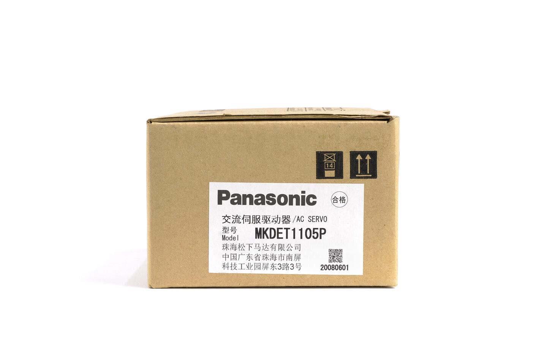 パナソニック MINAS Eシリーズ サーボアンプ MKDET1105P (08年製)