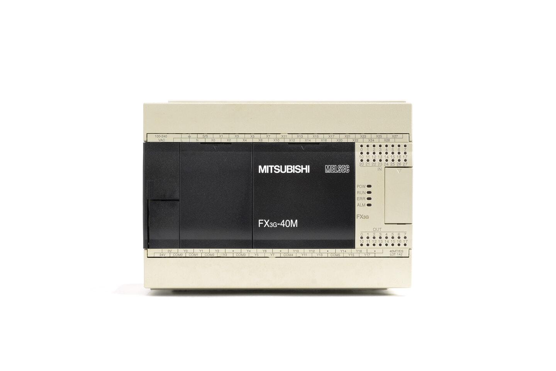 三菱 シーケンサ FX3G-40MT/ES (14年製・V2.21・USB故障)