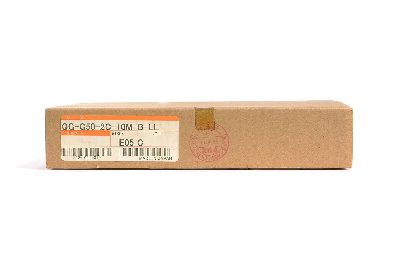 三菱 コネクタ付光ファイバケーブル QG-G50-2C-10M-B-LL