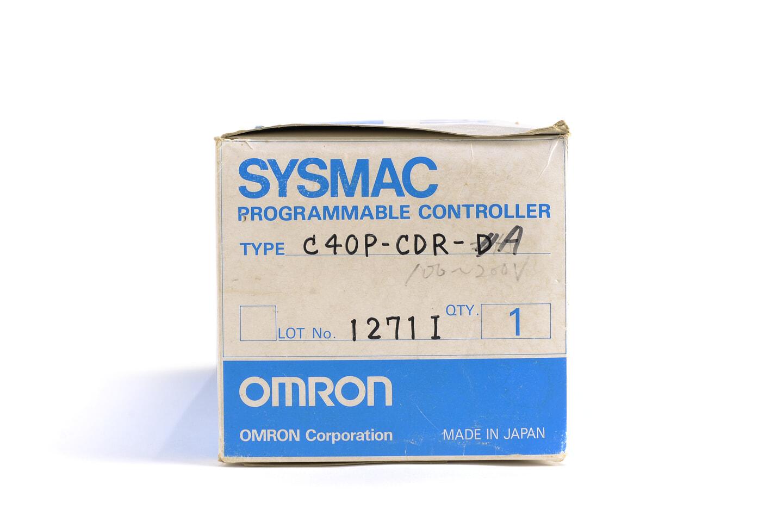 オムロン プログラマブルコントローラ C40P-CDR-A (95年製)