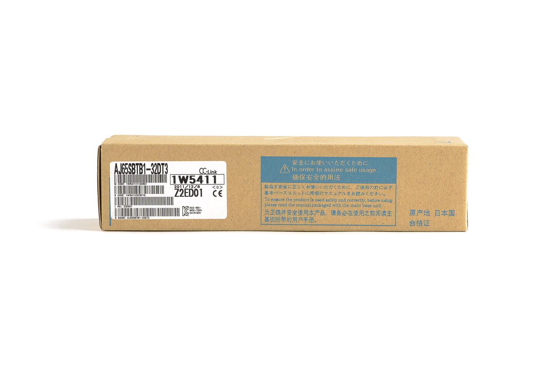 三菱 CC-Link小形タイプリモートI/Oユニット (DC入力/トランジスタ出力,端子台) AJ65SBTB1-32DT3 (11年製・F)