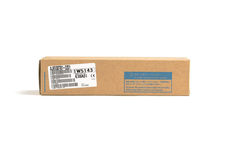 三菱 CC-Link小形タイプリモートI/Oユニット (DC入力,端子台) AJ65SBTB1-32D1 (07年製・S)